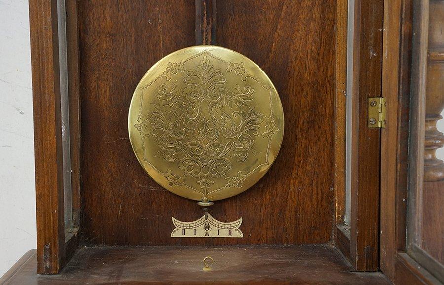 A German Regulator Wall Clock. - 3