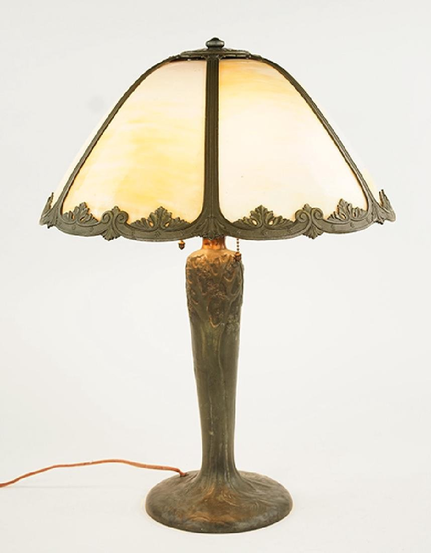 A Handel Tree Form Table Lamp.