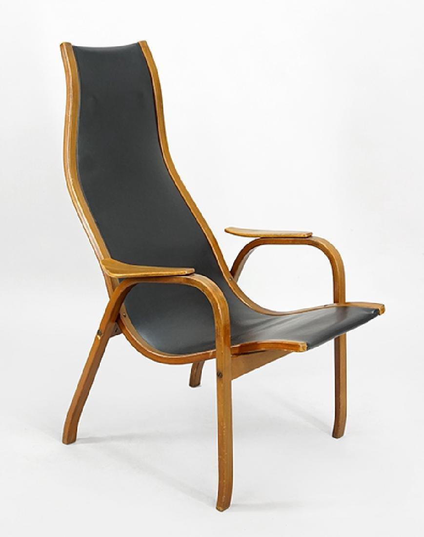 An Yngve Ekstrom For Dux U0027Laminou0027 Chair.