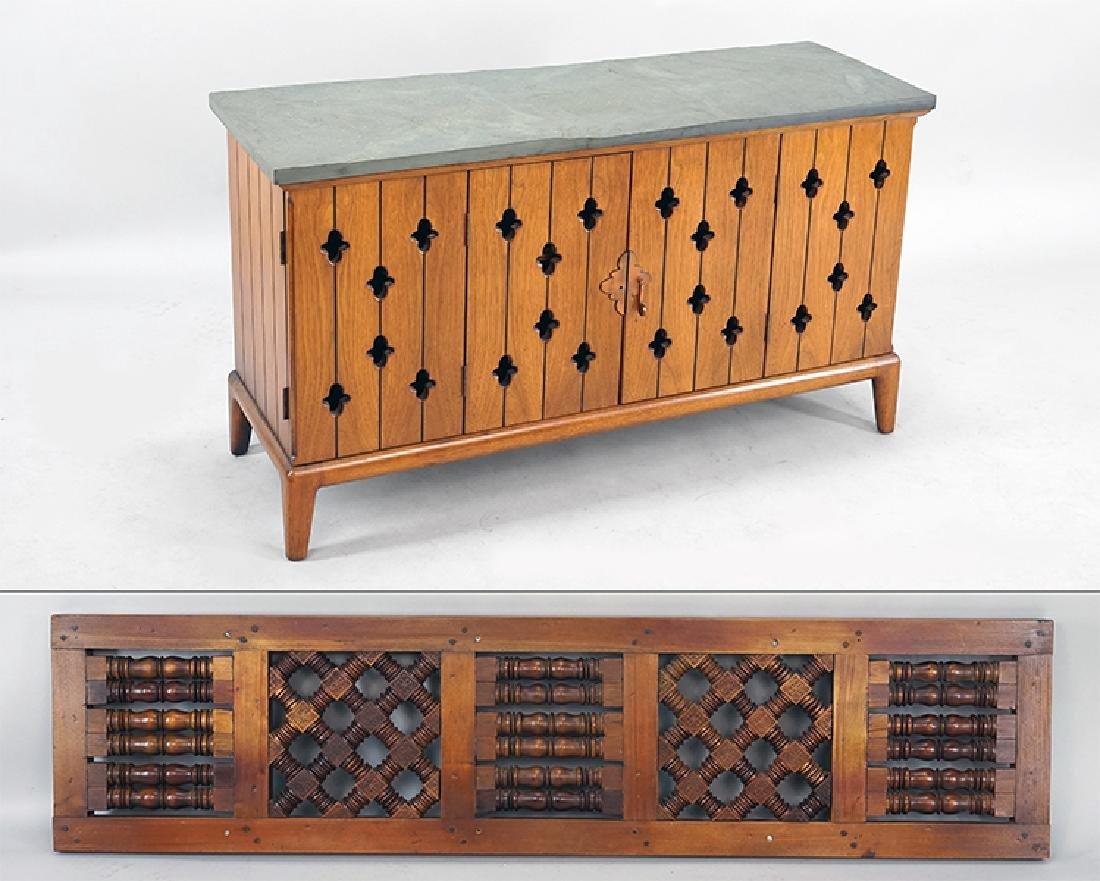 A Slate Top Cabinet.