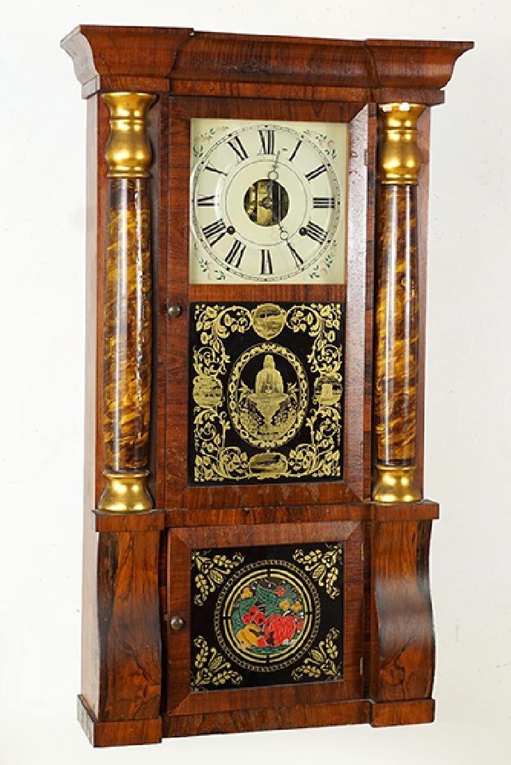 A Seth Thomas Eight Day Clock.