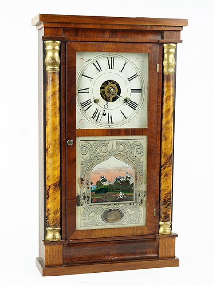 A Seth Thomas Shelf Clock.