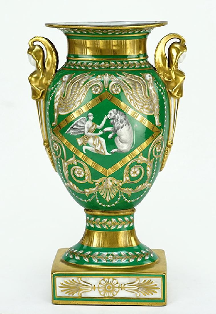 A French Porcelain Vase.