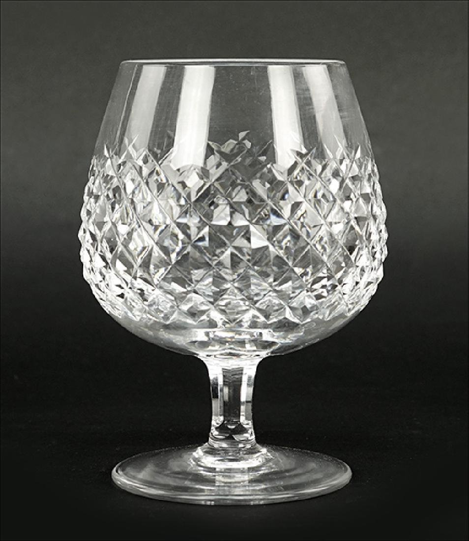 A Set of Six Waterford Crystal Brandy Snifters in the