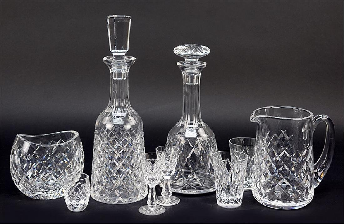 A Collection of Waterford Crystal.