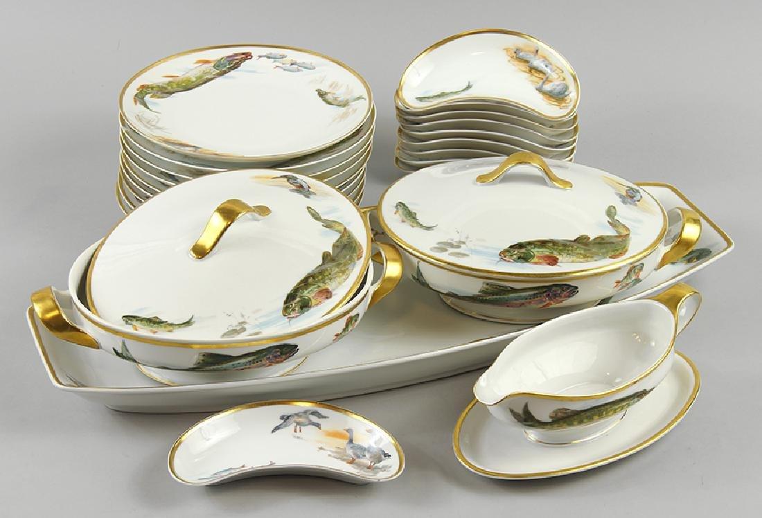 A Krautheim Porcelain Dinner Service.