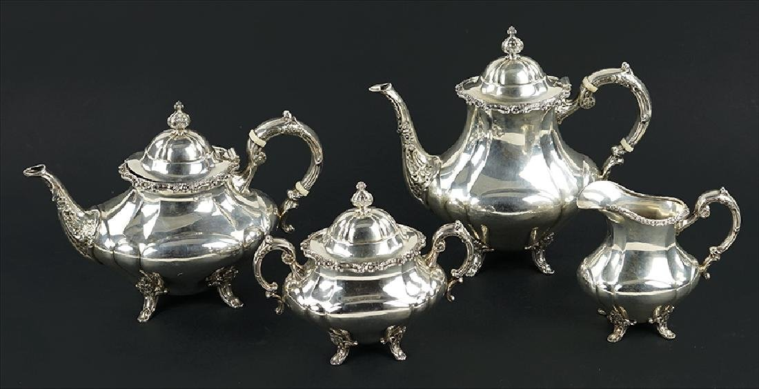 A Reed & Barton Sterling Silver Tea and Coffee Service.