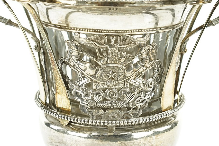 A 19th Century French Silver Confiturier. - 4