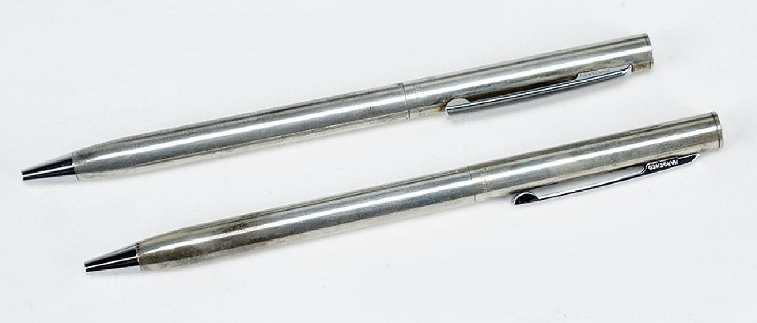 Two Tiffany & Company Sterling Silver Pens.