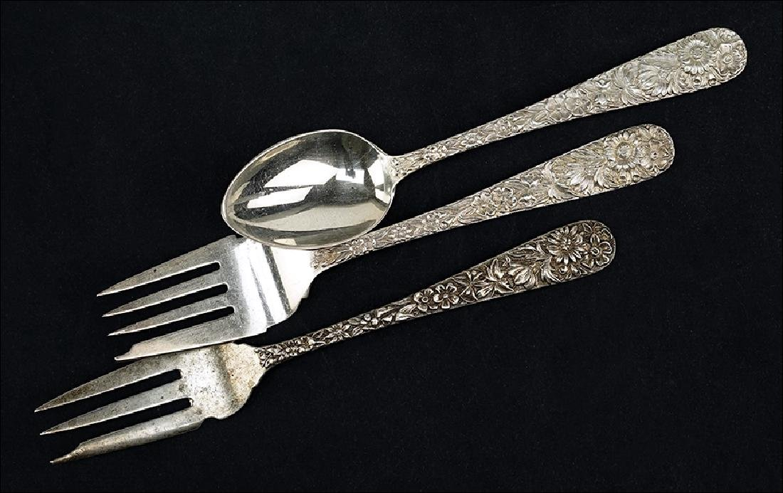 An S. Kirk & Sons Sterling Silver Partial Flatware