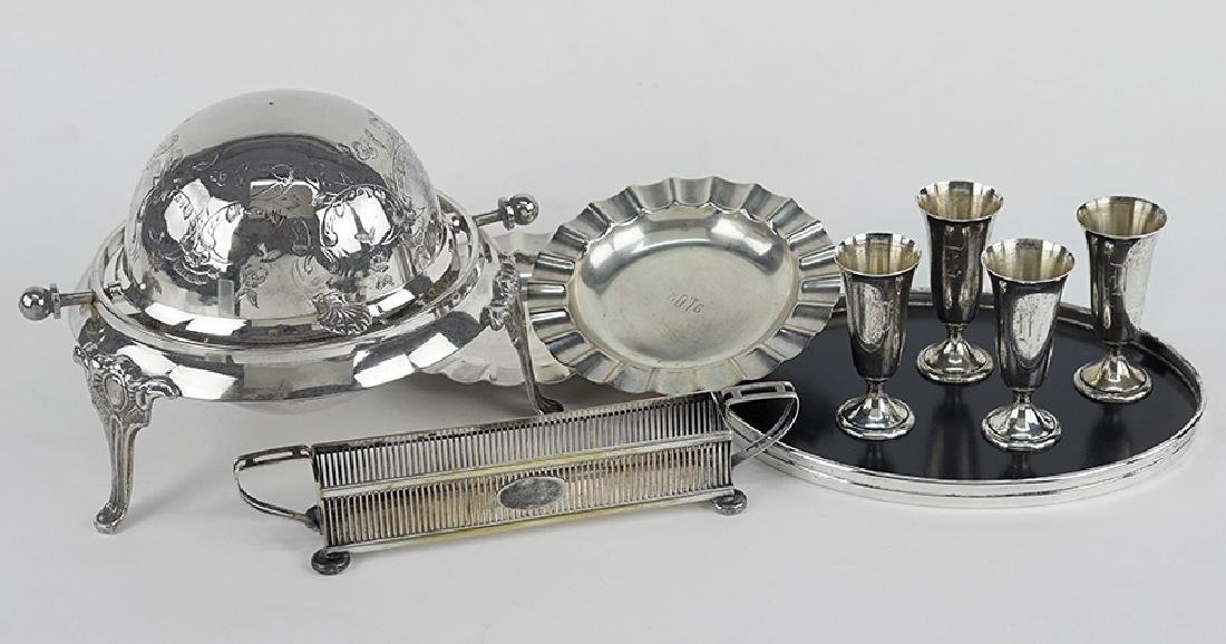 A Pair of Gorham for Spaulding Sterling Silver