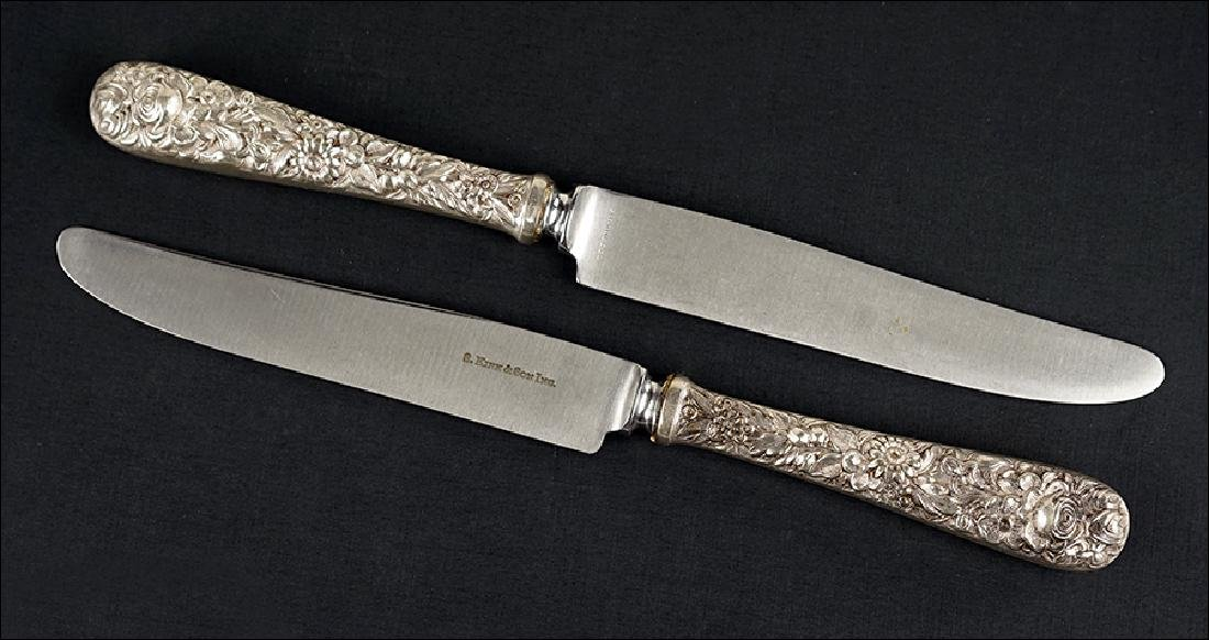 A Set of 13 S. Kirk Sterling Silver Handled Knives.