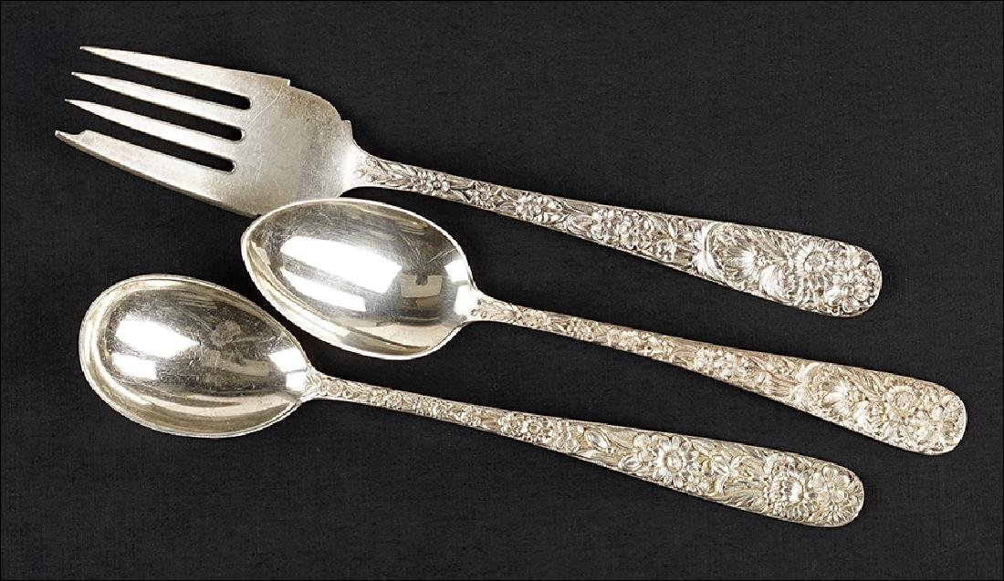 A Collection of S. Kirk Sterling Silver Flatware.