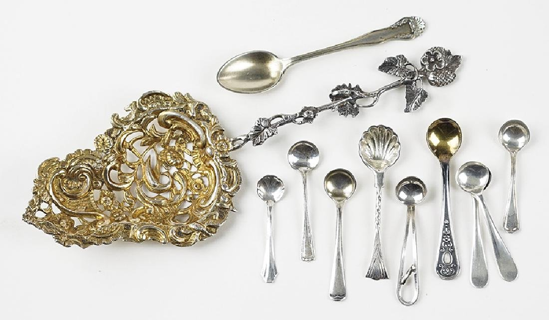 An English Filigree Silver Serving Piece.