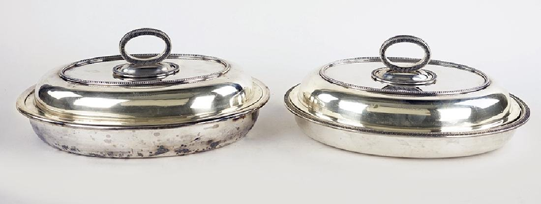 A Pair of Tiffany & Company Covered Servers.