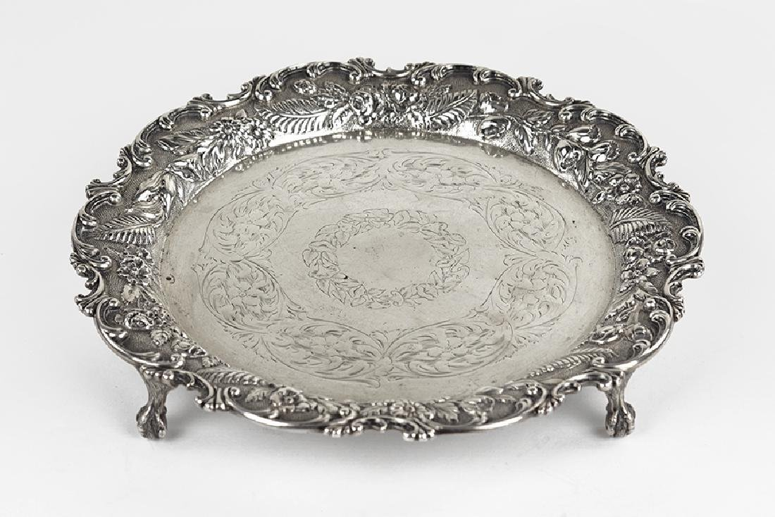 An S. Kirk Sterling Silver Salver.