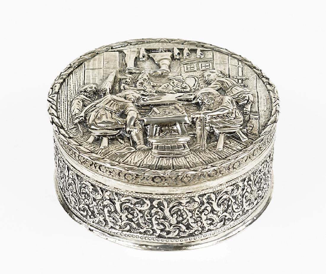 A Dutch Silver Box.