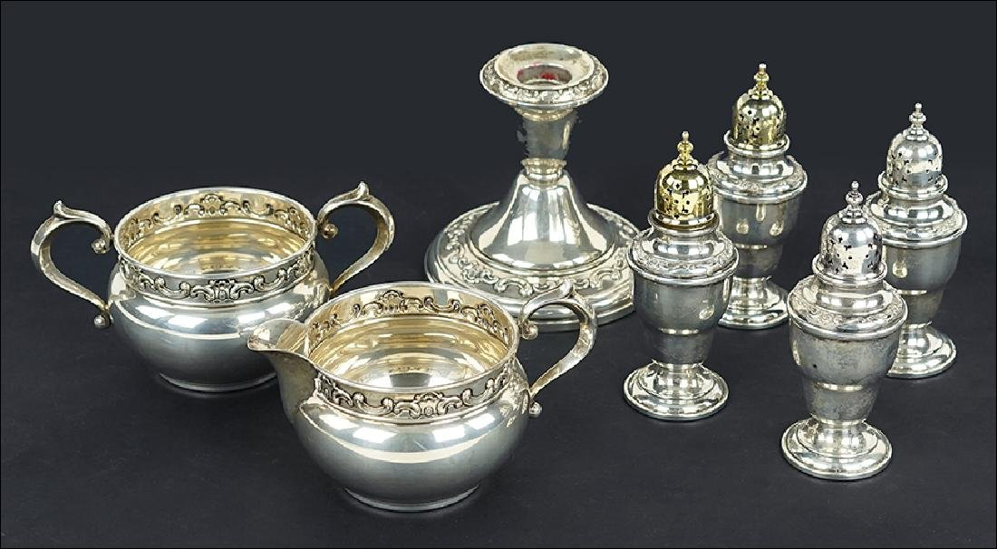 A Collection of Gorham Sterling Silver Table Articles.