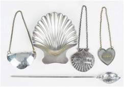 A Tiffany  Company Makers Sterling Silver Shell Form