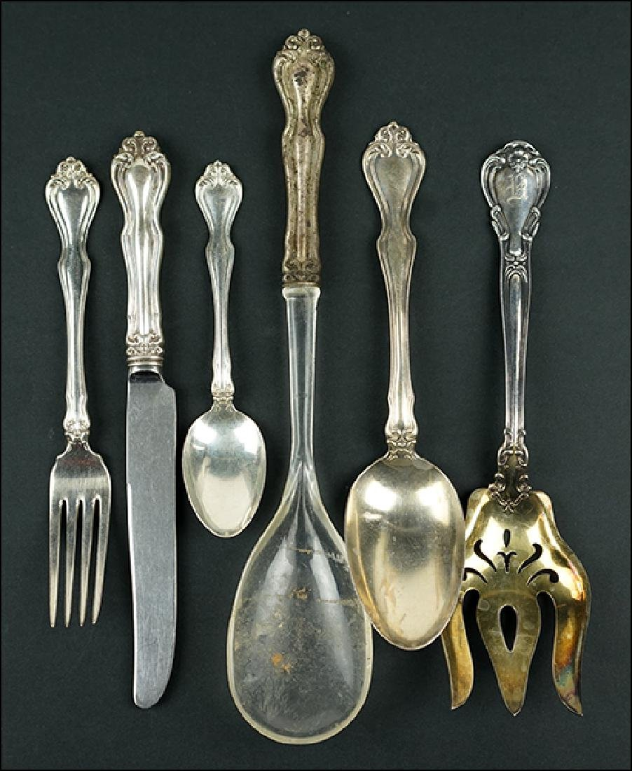 A Gorham Sterling Silver Partial Flatware Service.