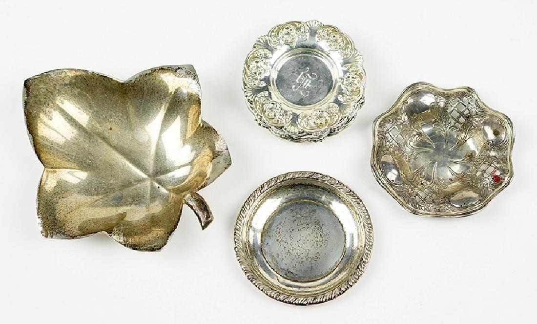 A Tiffany & Company Makers Leaf Form Dish.