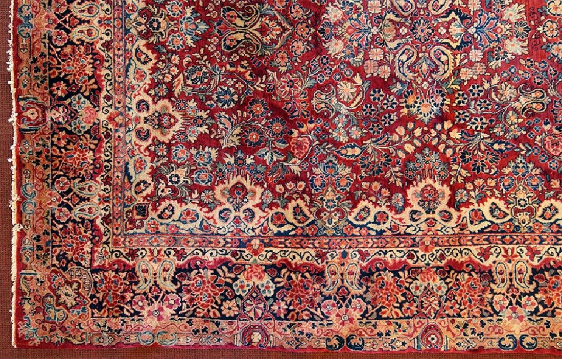 A Sarouk Carpet.
