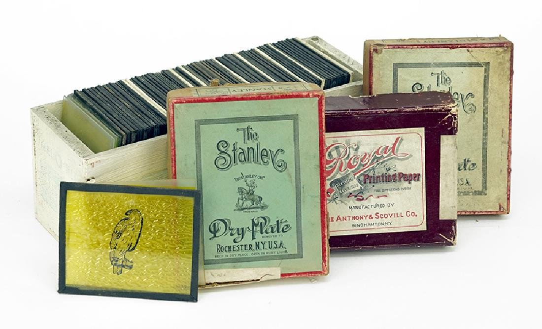 A Collection of Magic Lantern Slides.