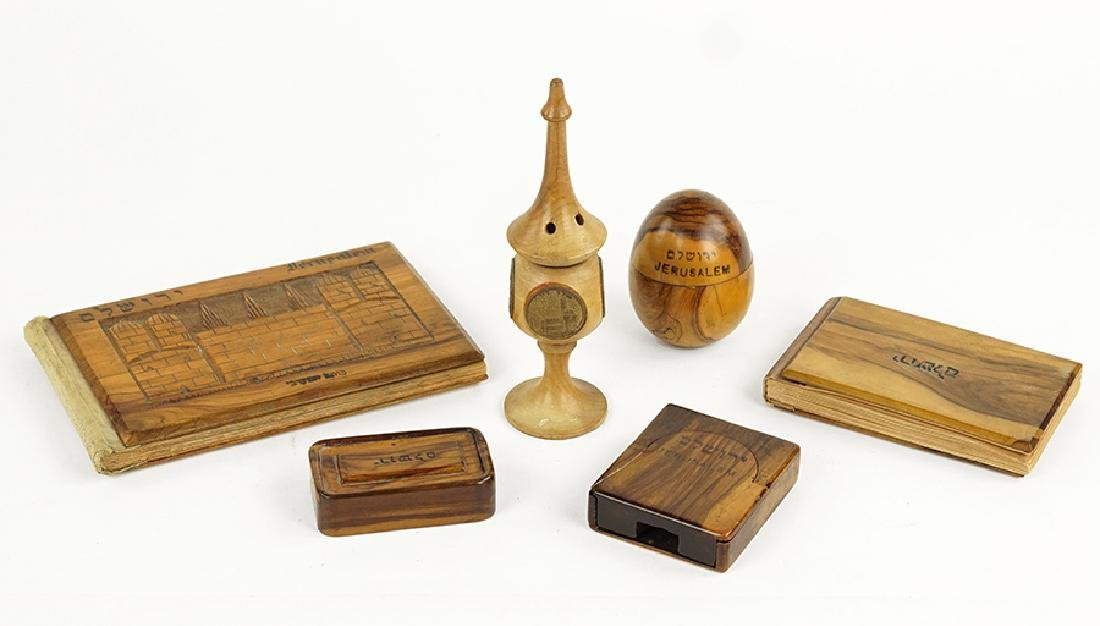 A Collection of Jerusalem Olivewood Table Articles.