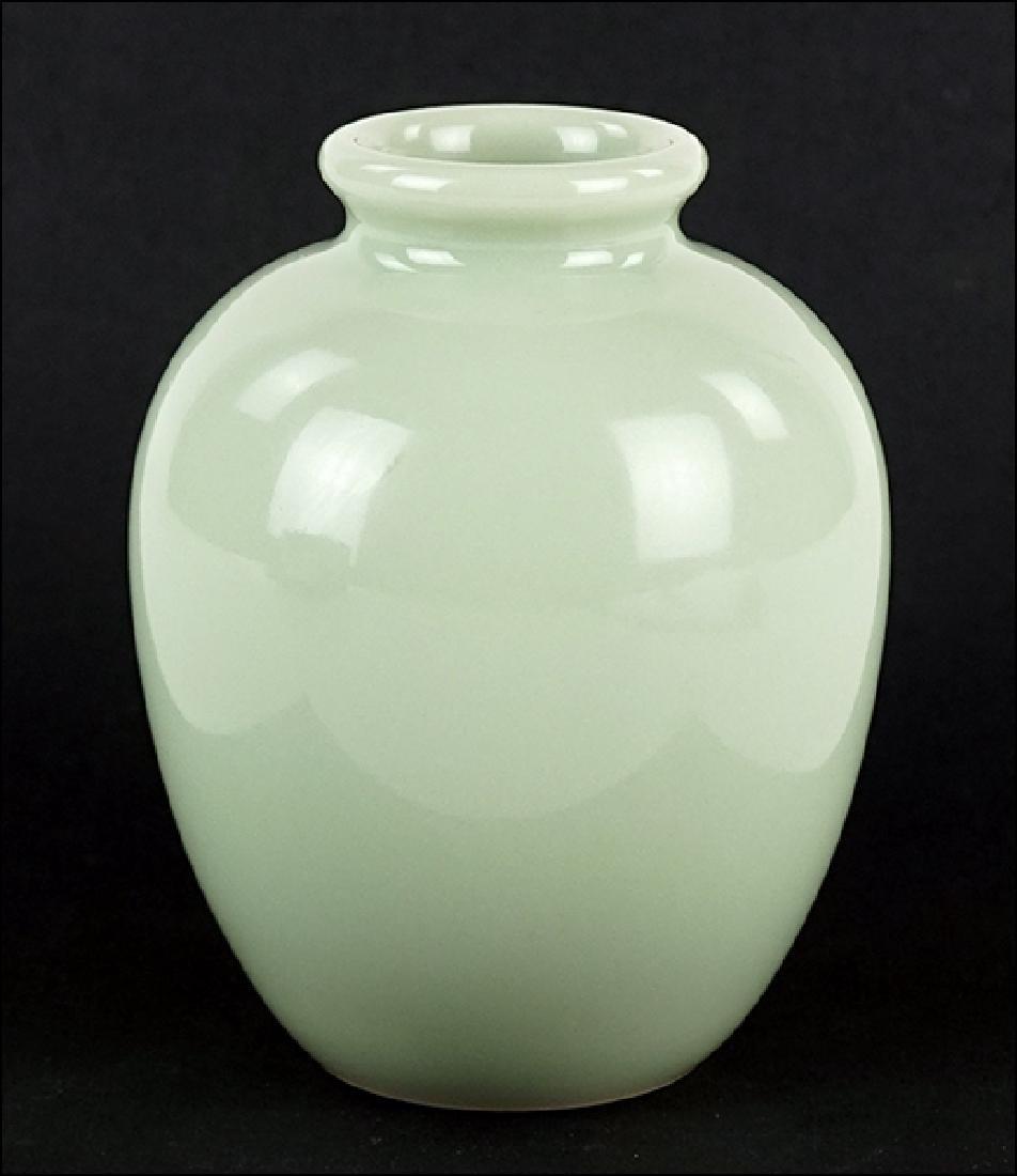 A Chinese Celadon Glazed Pot.