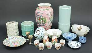 A Collection of Decorative and Table Articles