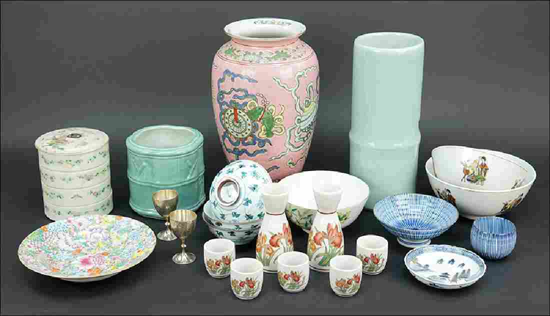 A Collection of Decorative and Table Articles.