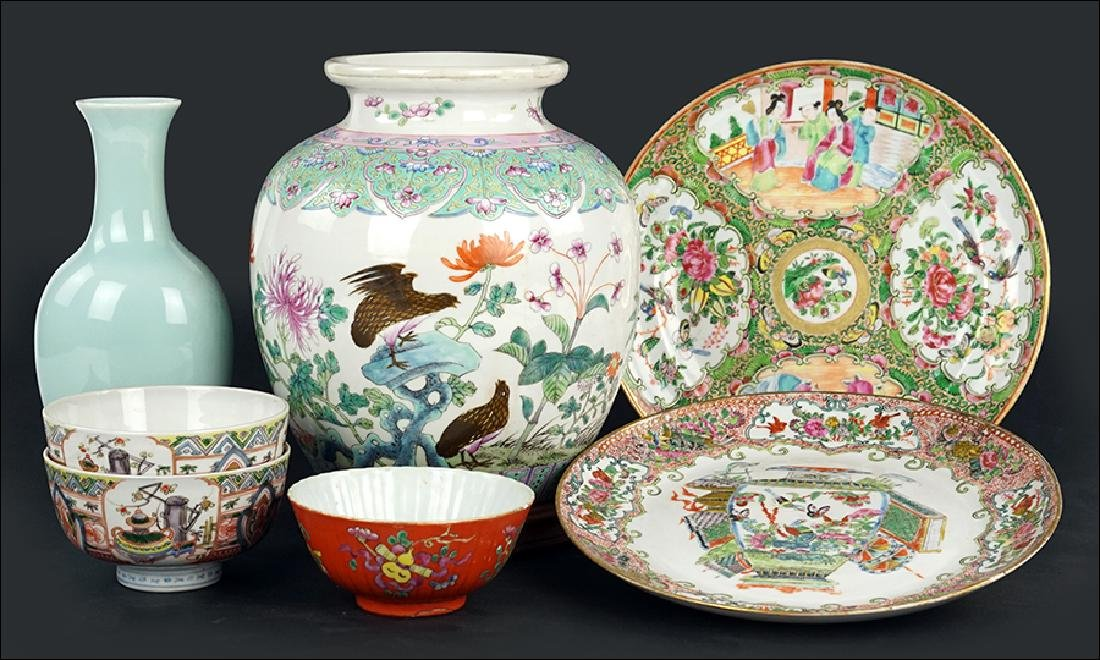 A Collection of Chinese Porcelain.