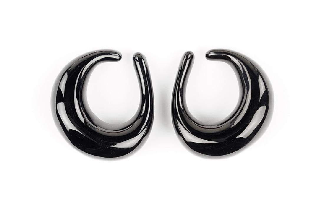A Pair of Baccarat Earrings.