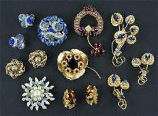 A Collection of Hobe Jewelry