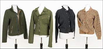 A Collection of Ralph Lauren Sweaters and Outerwear.