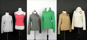 A Collection of Cashmere Ralph Lauren Sweaters