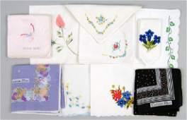 Two Dior Handkerchiefs.