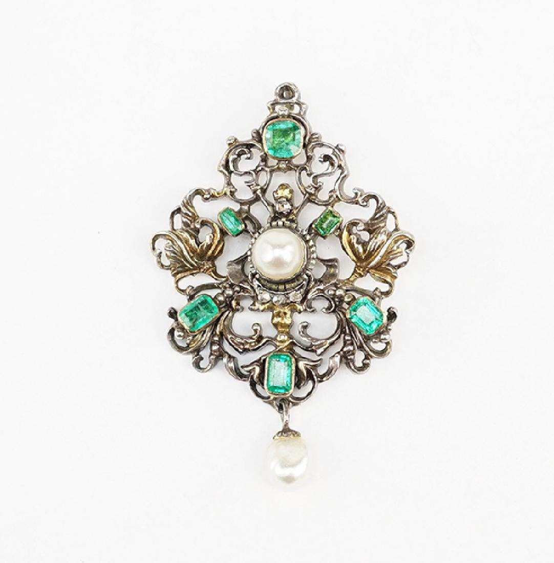A 19th Century Continental Pendant.