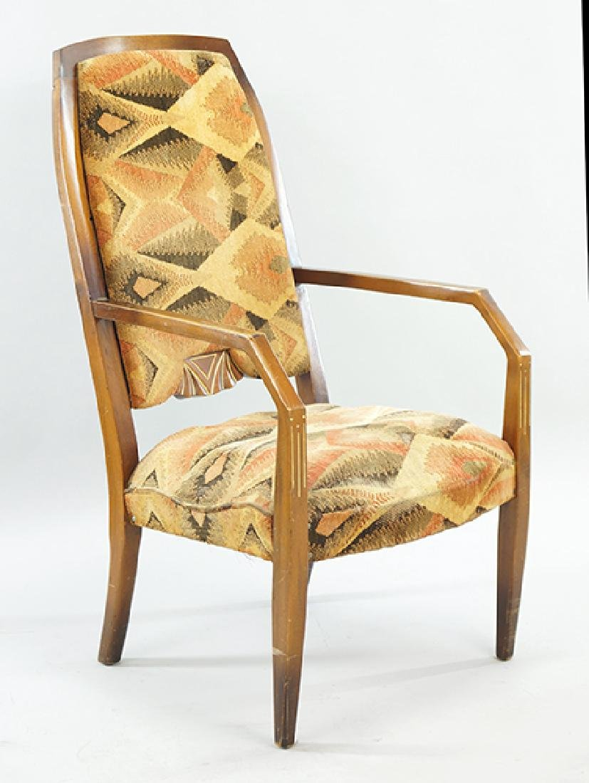 A French Deco Fauteuil.