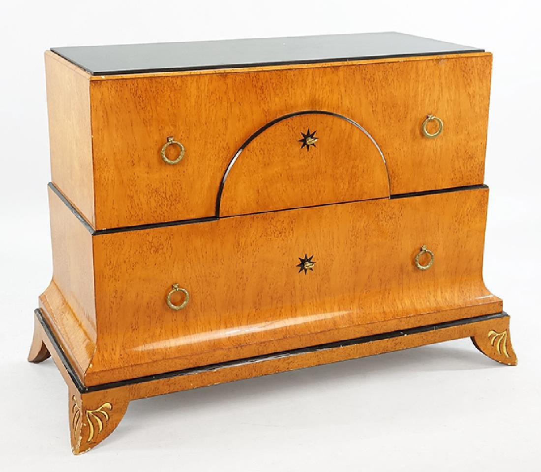 A Pair of Biedermeier Style Chests.