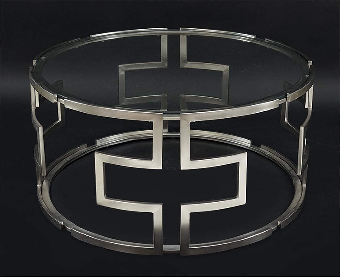 A Contemporary Cocktail Table.