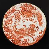 A Set of Eleven Royal Crown Derby Porcelain Plates.