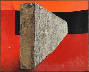 Enrico Donati (Italian-American, 1909-2008) Carcassonne