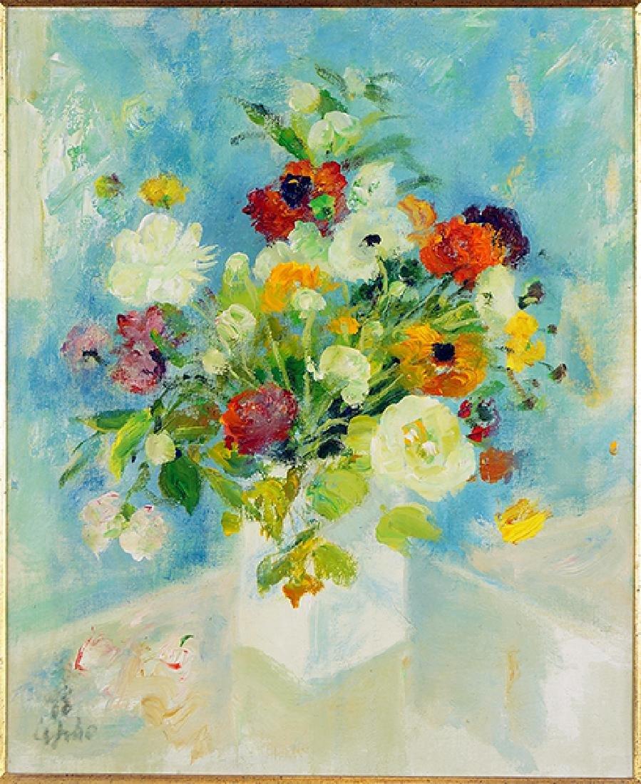 Le Pho (Vietnamese-French, 1907-2001) Bouquet.