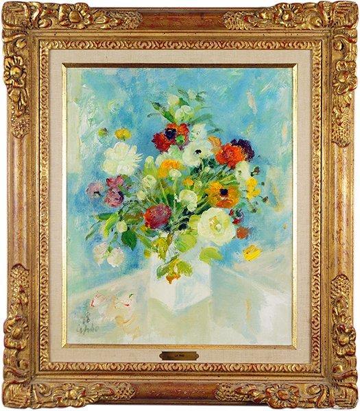 Le Pho (Vietnamese-French, 1907-2001) Bouquet. - 3