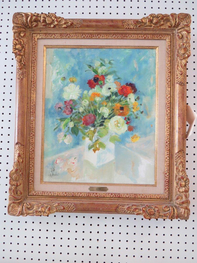Le Pho (Vietnamese-French, 1907-2001) Bouquet. - 4