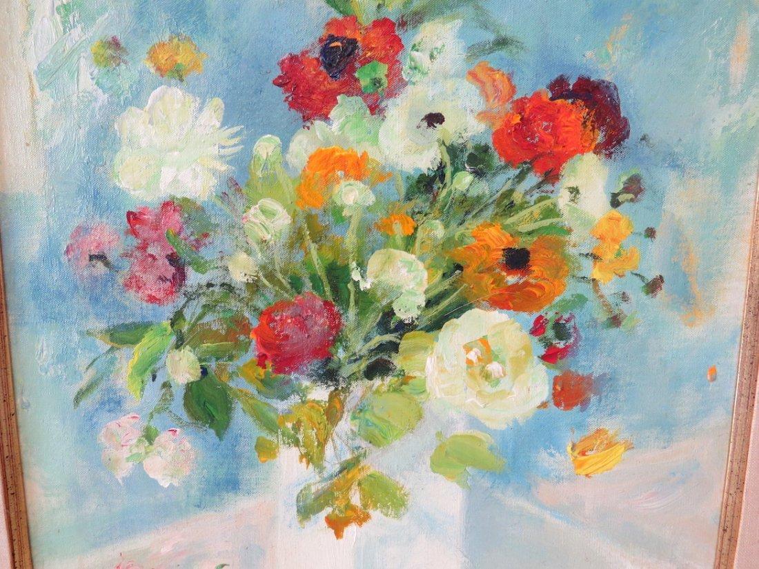 Le Pho (Vietnamese-French, 1907-2001) Bouquet. - 9