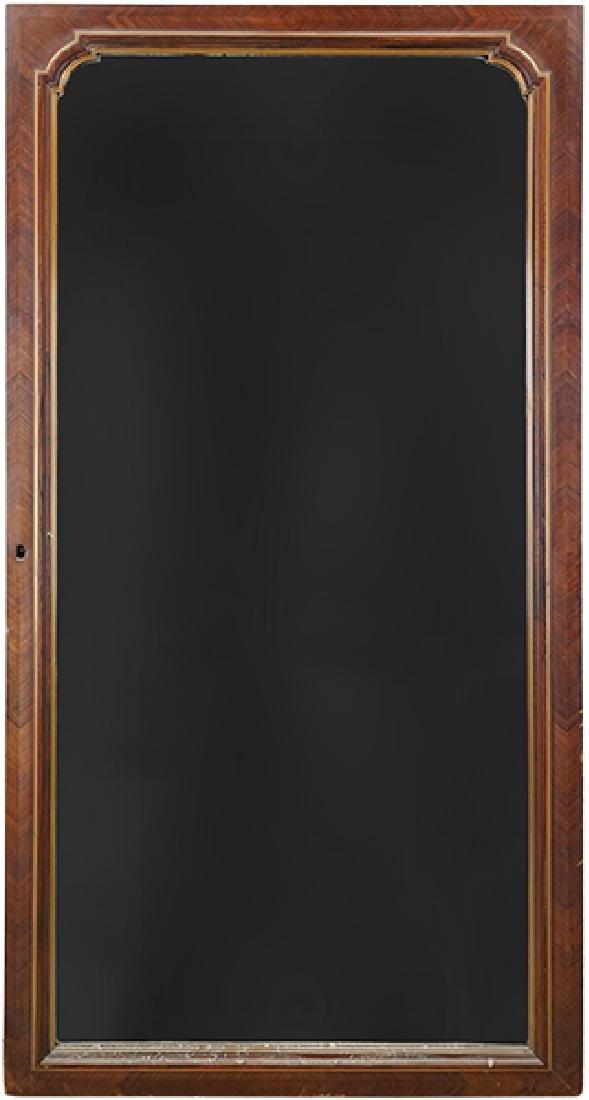 A Mahogany Mirror.