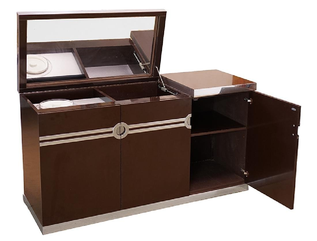 A Pierre Cardin Bar Cabinet.