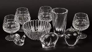 A Set of Four Waterford Crystal Brandy Snifters.